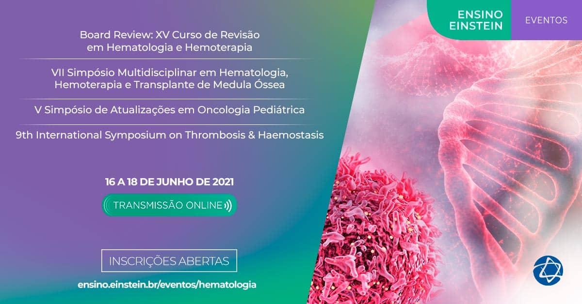 XV Curso de Revisão em Hematologia e Hemoterapia